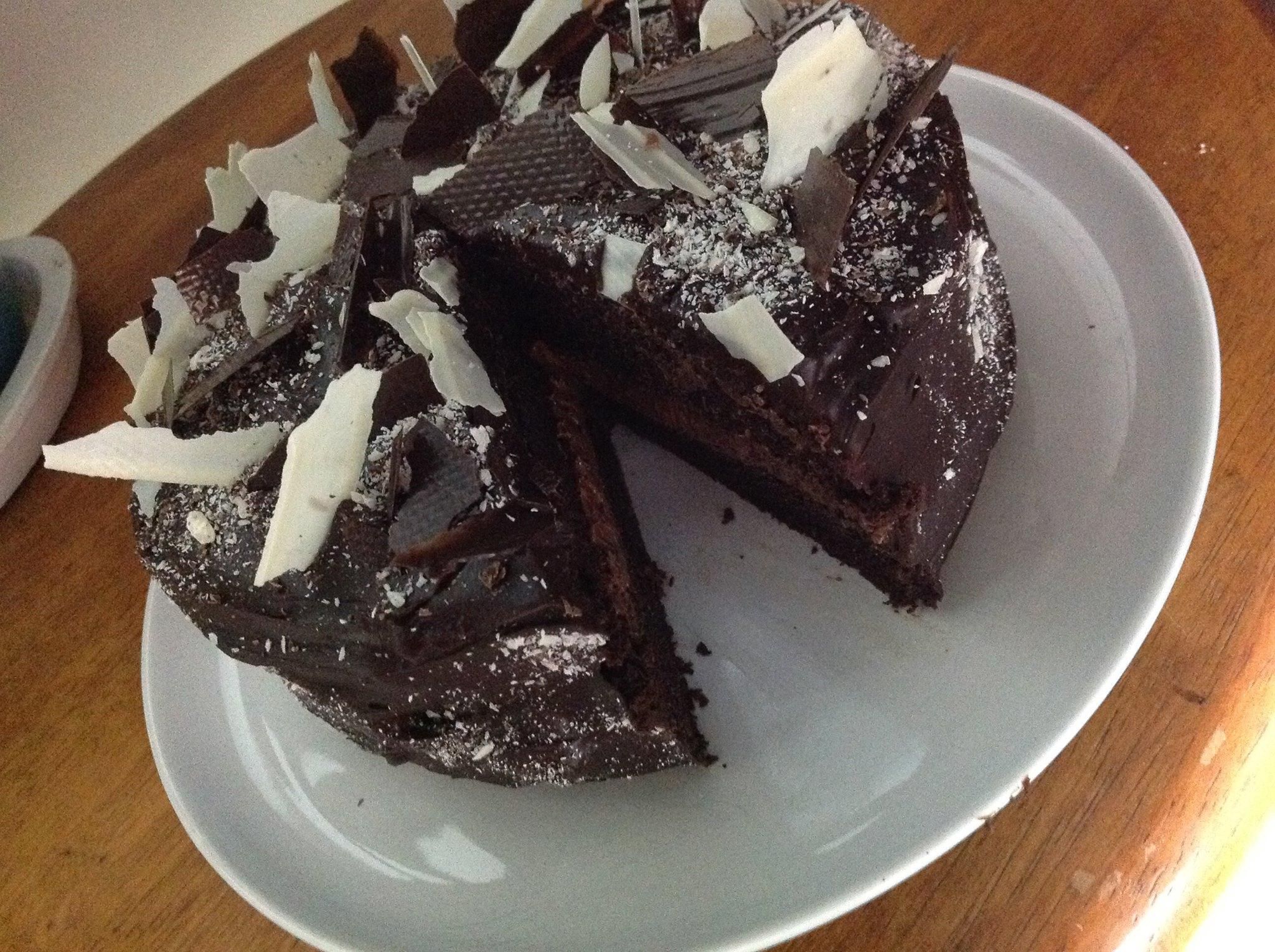 Chocolate devils food cake thermomix can 39 t stop baking - Herve cuisine cake chocolat ...